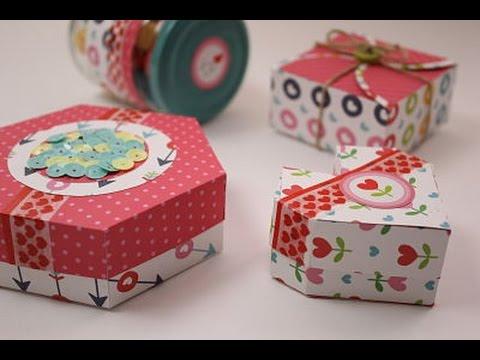 C mo hacer cajas de regalo originales cajas de regalo for Regalos originales de manualidades