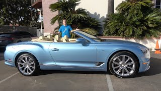 The Bentley Continental GTC Is an Amazing Luxury Convertible