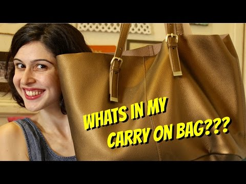 What's In My Carry On Bag??? ♡ My Travel Essentials