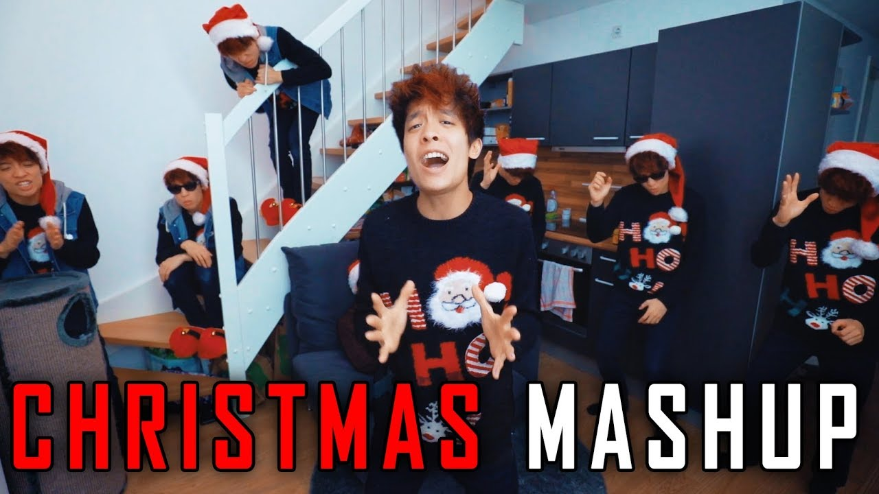 Christmas MASHUP feat. Mama Bao | Gong Bao - YouTube