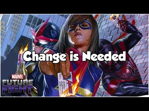 Change is Needed  Marvel Future Fight