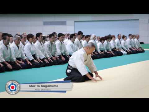 Aikido Morito Suganuma - Class Highlights - 12th IAF Congress