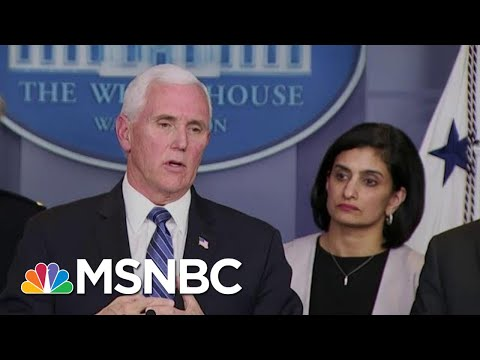 Pence Delivers Coronavirus Update: Vaccine Could Go To Trials Within 6 Weeks   MTP Daily   MSNBC