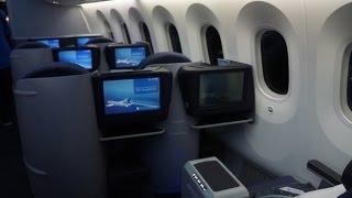 FRANKFURT-HOUSTON | UNITED AIRLINES | BUSINESS CLASS | B787