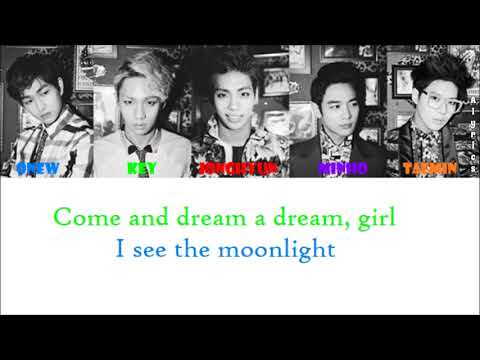 SHINee - Nightmare (Rom-Han-Eng Lyrics) Color & Picture Coded