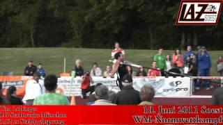 10.6.2011: Tim Lobinger springt 5,52m beim WM-Normwettkampf in Soest