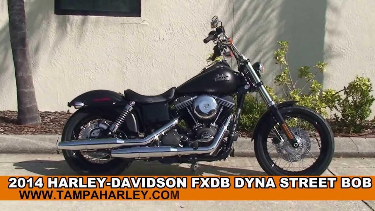 2014 Harley Davidson Street Bob Motorcycle For Sale In Pensacola Fl