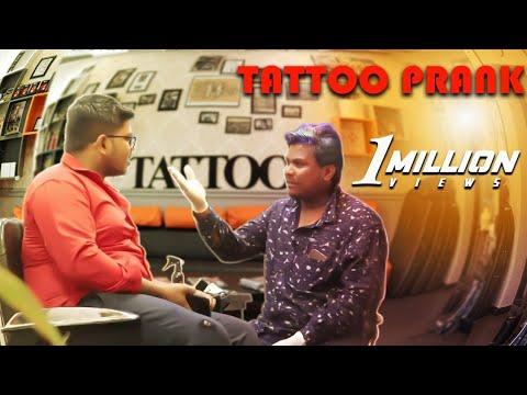 Tattoo Pullingo   Prankster Rahul  Tamil Prank   PSR 2019