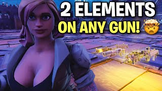 How to put 2 elements on any schematic! 🤫🤯 (Scammer Get Scammed) Fortnite Save The World