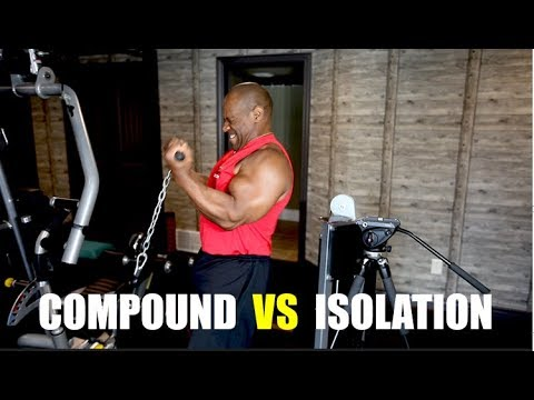 Compound vs Isolation Exercises for MAXIMUM Muscle Growth!