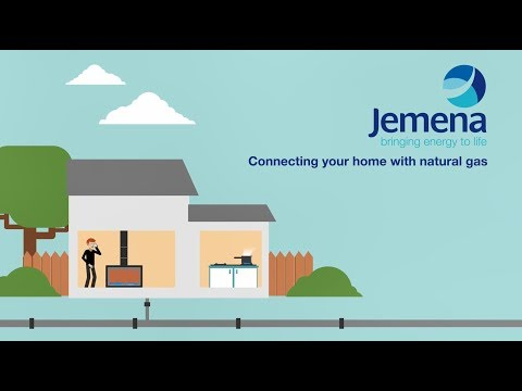 A quick and simple explanation of how Natural Gas is connected to your home