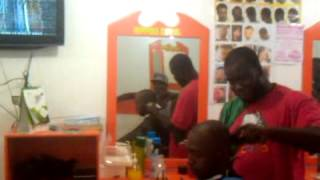 upper levels barbershop. new amsterdam guyana. producer zj antsman.