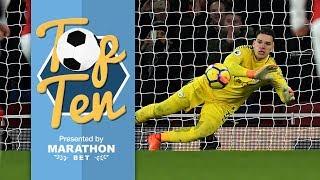 Best premier league saves | 2017/18