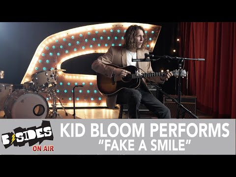 """Kid Bloom Performs """"Fake A Smile"""" for B-Sides"""