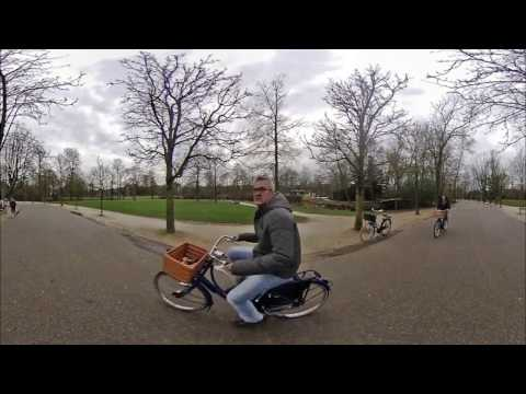 Peaceful moments at Vondelpark in Amsterdam - 360 video with the Vuze camera