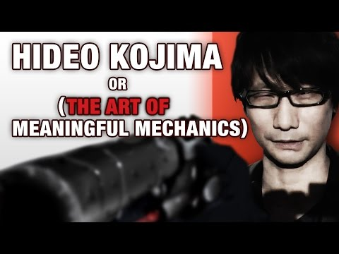 Hideo Kojima or (The Art of Meaningful Game Mechanics) - RagnarRox (Metal Gear Solid Analysis)