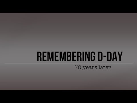 Remembering D-Day: NJ veterans share their memories 70 years later