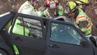 Auto Extrication with two people trapped, Whitehall, PA  12/19/17