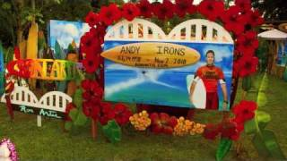 An Angel Flying Home - Andy Irons Memorial - Ron Artis Family Band