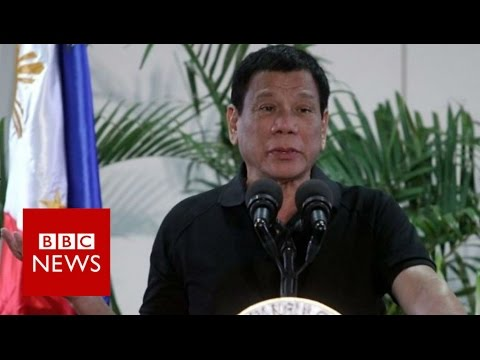 Duterte compares drug war to Holocaust - BBC News