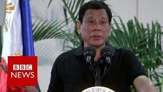 Duterte compares drug war to Holocaust - BBC News