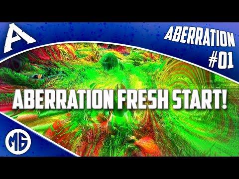 ABERRATION FRESH START!!!! DON'T DO DRUGS KIDS!!! Ark: Survival Evolved