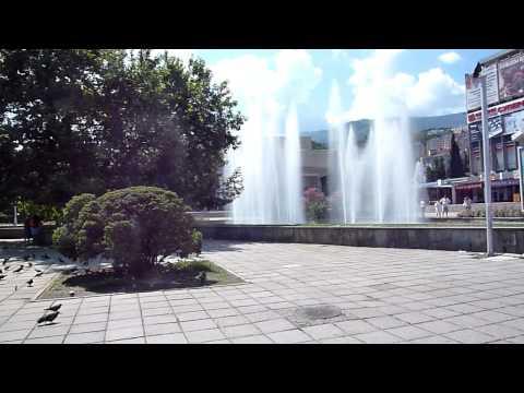 Fountain near Saturn, Yalta, Crimea