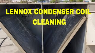 LENNOX CONDENSER COIL CLEANING