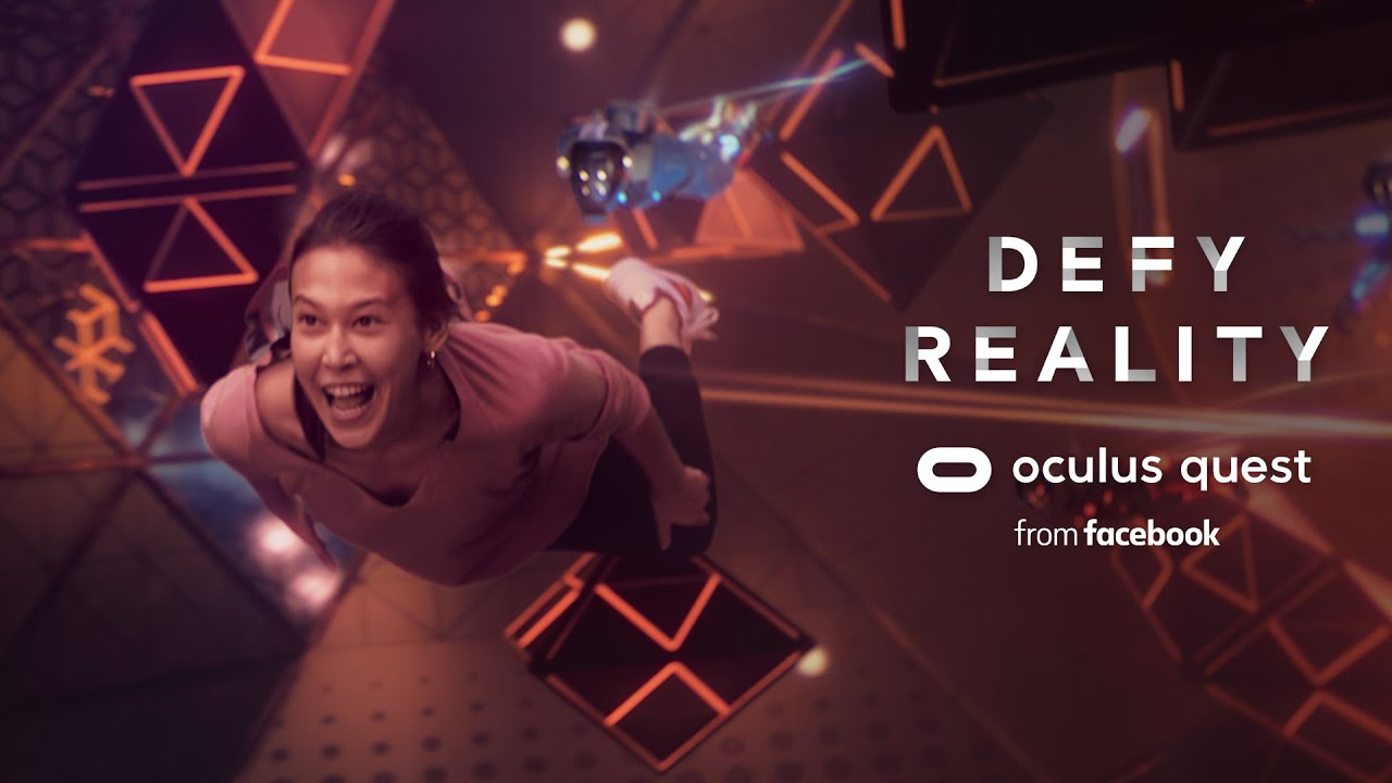 Defy Reality | Oculus Quest | Echo Arena