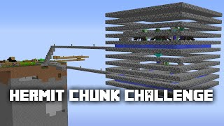 Minecraft: Hermit Chunk Survival Challenge - 3 - The Best Mob Farm on YouTube ✔