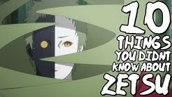 10 Things You Probably Didn't Know About Zetsu! (10 Facts) | Naruto Shippuden | (Black/White Zetsu)