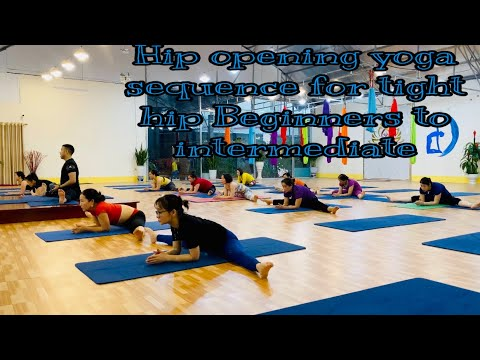 hip opening yoga sequence for tight hip beginners to