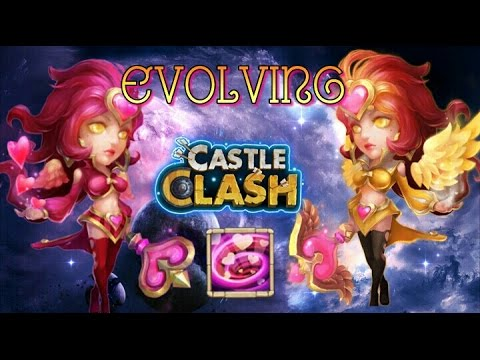 Castle Clash Evolving Valentina!