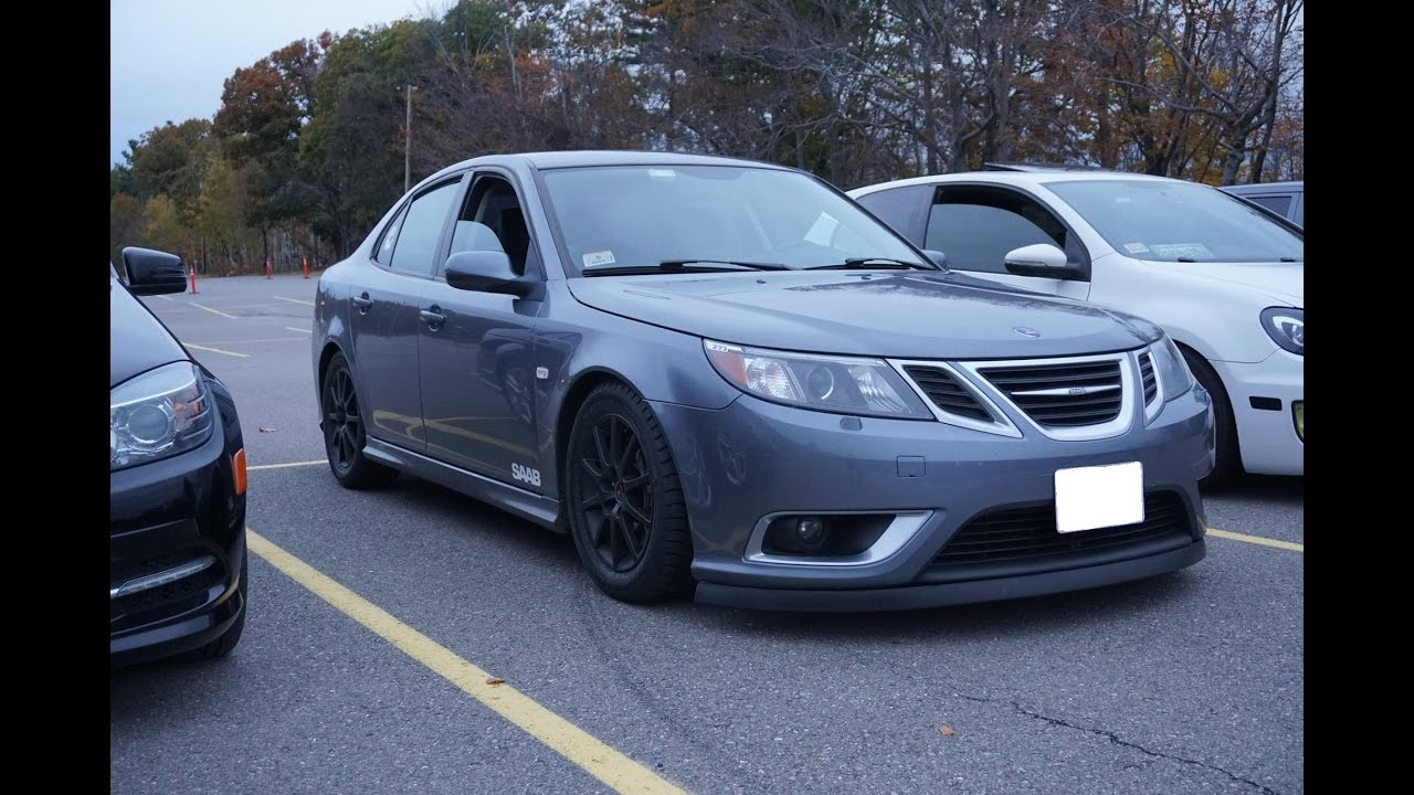 2008 saab 9 3 aero w dynomax exhaust bsr intake youtube. Black Bedroom Furniture Sets. Home Design Ideas