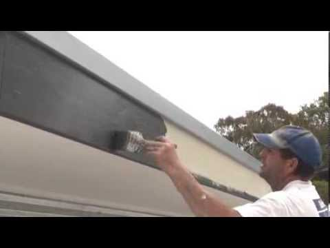 How to paint a fascia or barge boards