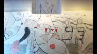 音楽と絵画のコラボレーション作品 制作 音楽 『機械的胎内回帰』 coco(...