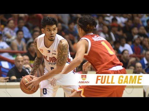 Alab Pilipinas vs. Singapore Slingers | FULL GAME | 2016-2017 ASEAN Basketball League