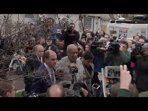 Bill Cosby Arraigned on Felony Sexual Assault Charges