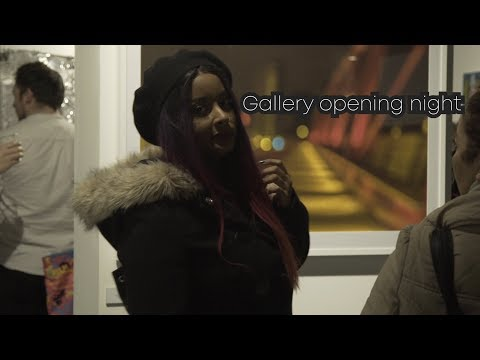 The Opening Night of London City Island Gallery