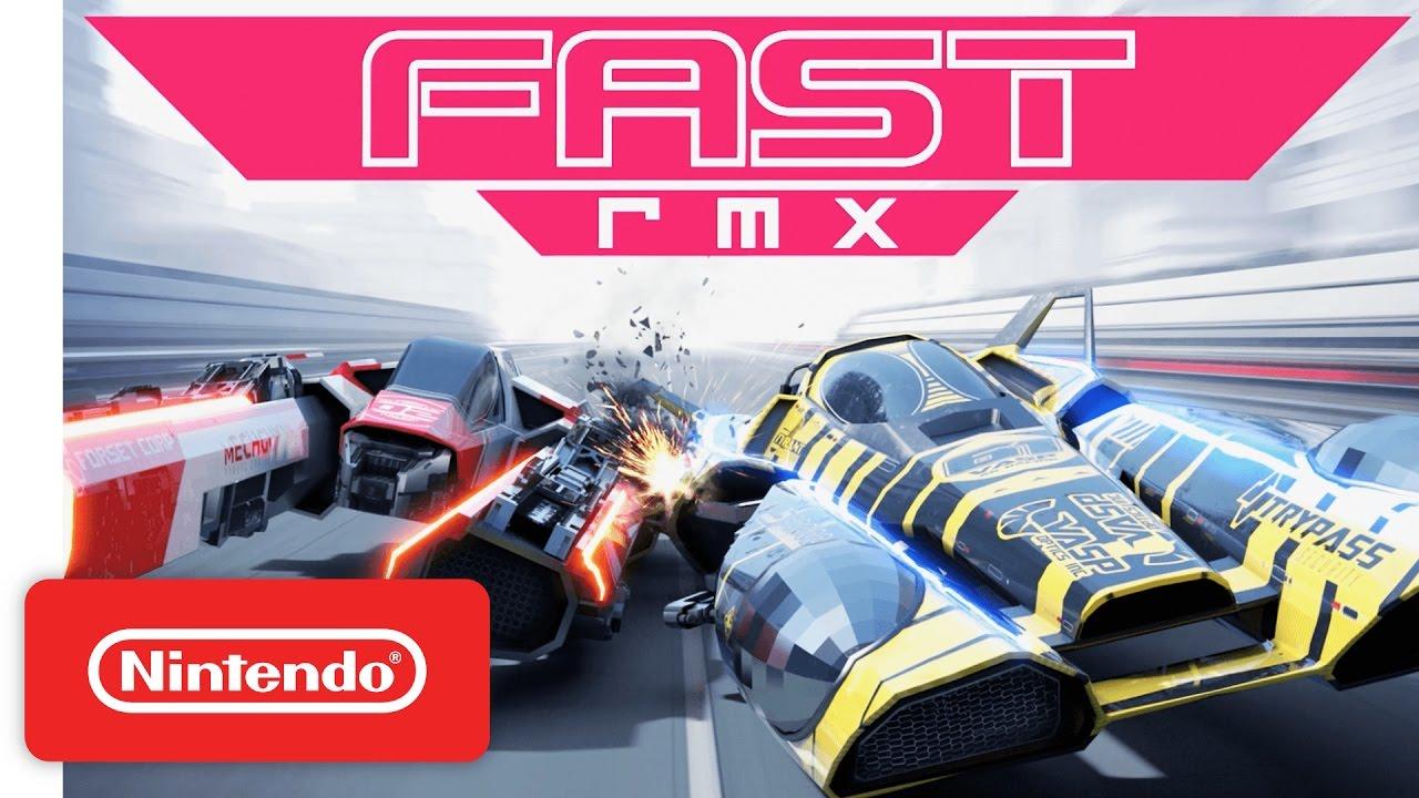 [Switch] Détail de la première mise à jour annoncée pour Fast RMX