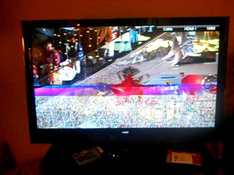 Vizio Xvt553sv Screen Flicker Distortion And Audio Popping Youtube