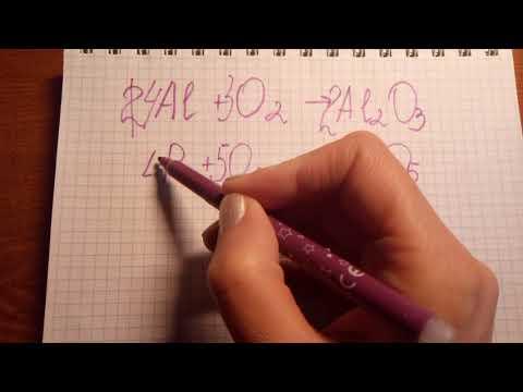 Расстановка коэффициентов в химических уравнениях 8 класс видеоурок