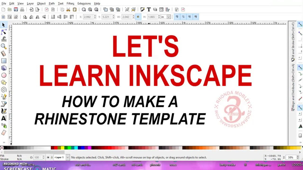 Make A Rhinestone Template YouTube - How to make rhinestone templates