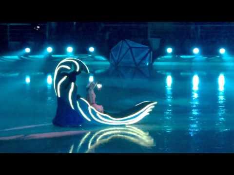 ледовое шоу снежный король 2 Слуцкая на льду