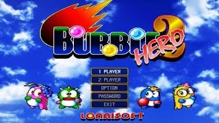 Bubble Bobble Hero 2 gameplay (PC Game, 1999)