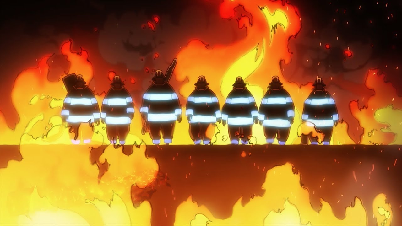 Funimation Presents Fire Force World Premiere With Creator Atsushi Ohkubo At Ax 2019 Anime Expo Lucifer illustration, dark, angel, fire, flame, hell, warrior. creator atsushi ohkubo at ax 2019