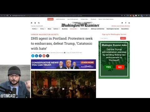 Portland Democrat Accidentally Reveals He Controls Antifa, Or He's Just Lying, Media Of Course Lies