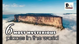 These are the 6 most mysterious places in the world, see pictures