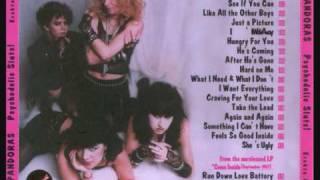 The Pandoras - Run Down Love Battery, Track 19