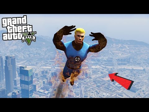 THE HUMAN TORCH - GTA 5 Mods